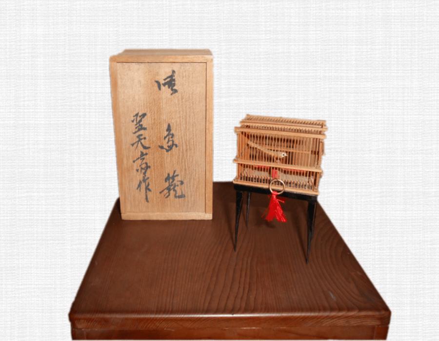 鳥籠・ミニチュア(約5cm)