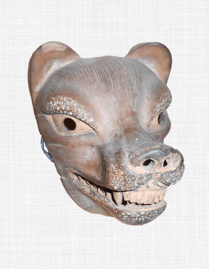 狐面(陶器)