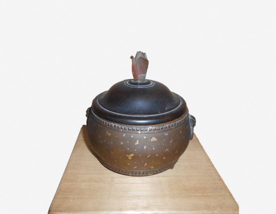 銅香炉(瑪瑙付き)